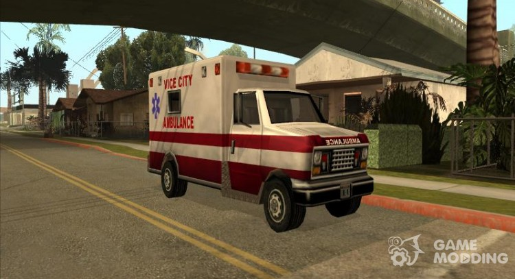 Ambulance from Vice City for GTA San Andreas