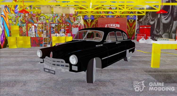 GAZ-12 ZIM 1949 for GTA San Andreas