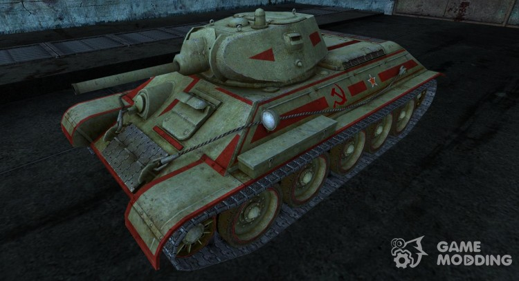 Skin for t-34 for World Of Tanks