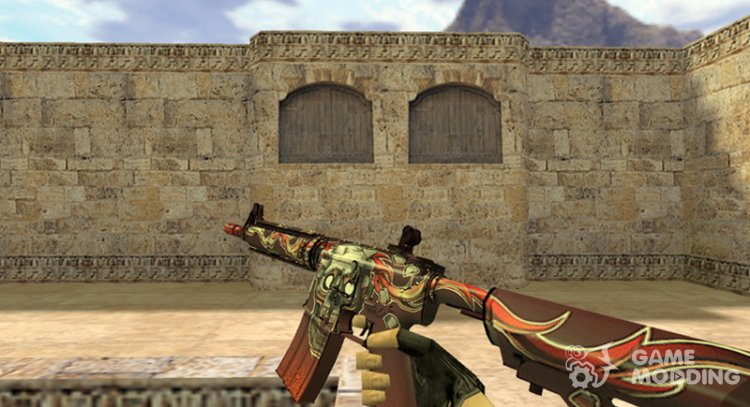 M4A1 kill confirmed for Counter Strike 1.6