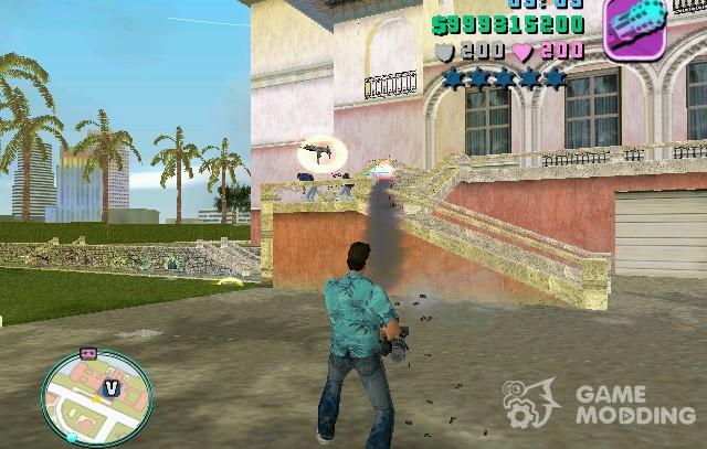 Hud mod for GTA Vice City