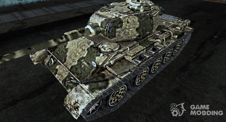 Skin for t-44 for World Of Tanks