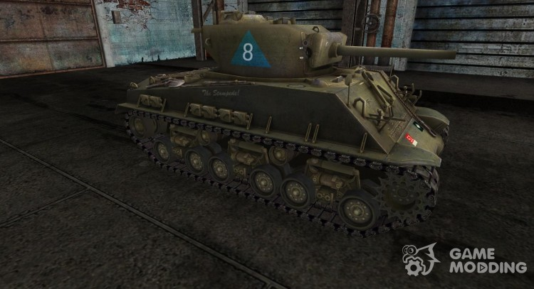 M4A3 Sherman 3 for World Of Tanks
