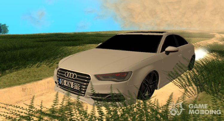 Audi A3 S-Line for GTA San Andreas