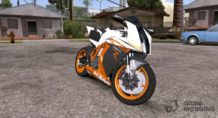2019 KTM 1190 RC8R for GTA San Andreas