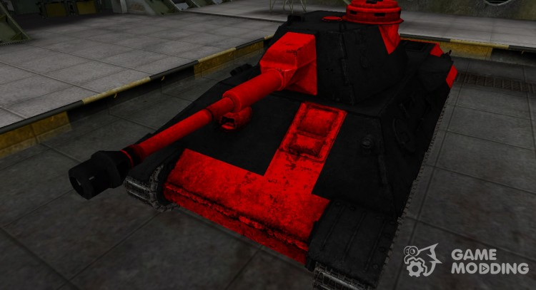 Black and red zone breakthrough VK 30.02 (D) for World Of Tanks
