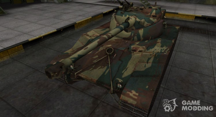 French new skin for Bat Chatillon 25 t for World Of Tanks