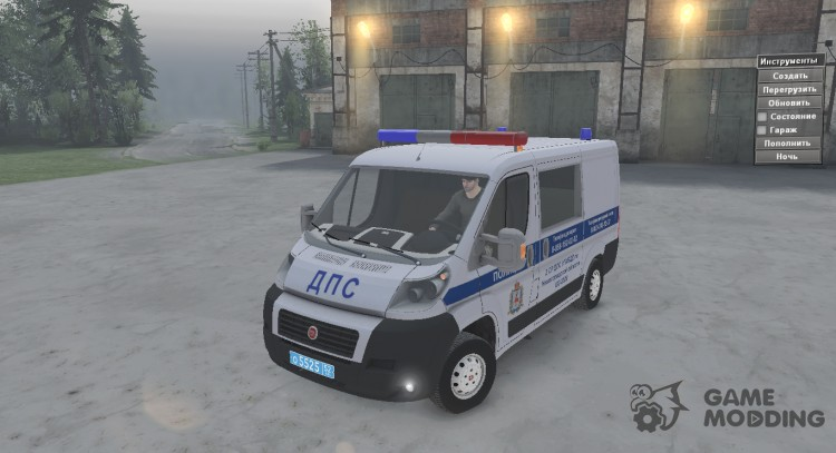 Fiat Ducato STR for Spintires 2014