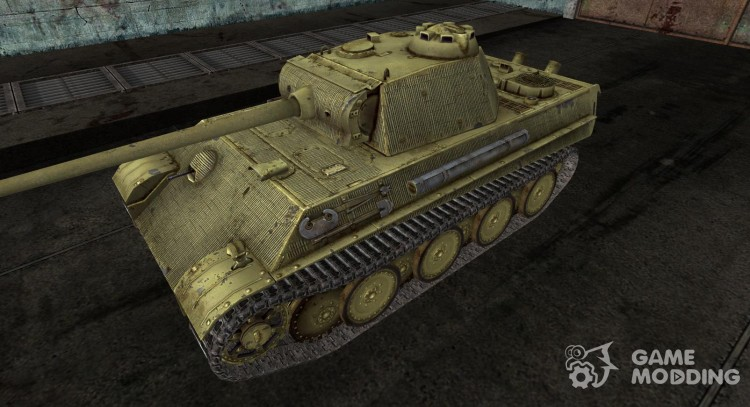 Skin for the Panzer V Panther for World Of Tanks