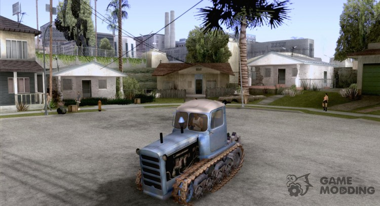 DT-75 m, Kazakhstan for GTA San Andreas