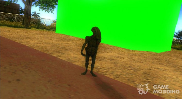 Chromakey for GTA San Andreas