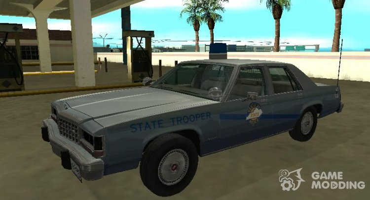 Ford LTD Crown Victoria 1987 Kentucky State Police for GTA San Andreas