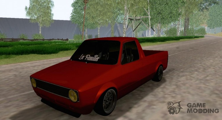 VW Caddy Mk1 for GTA San Andreas