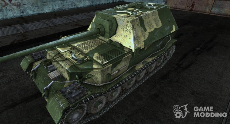 Шкурка для Ferdinand (зеленый) для World Of Tanks