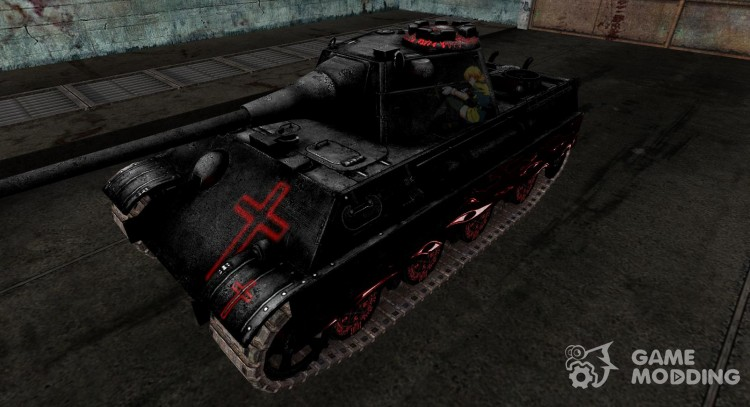 Skin for Panther II Hellsing for World Of Tanks