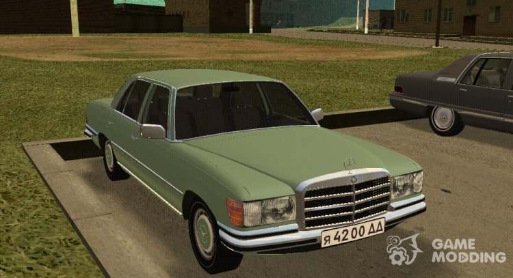 MERCEDES-BENZ W116 280SE for GTA San Andreas