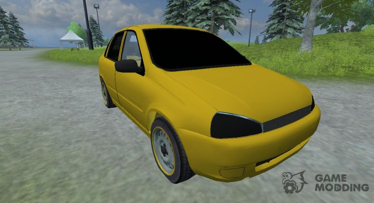 Lada Kalina v2.0 для Farming Simulator 2013