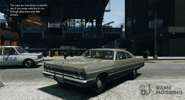 Plymouth Fury III Coupe 1969 for GTA 4
