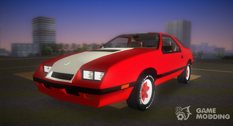 Dodge Daytona Turbo CZ 1986 for GTA Vice City