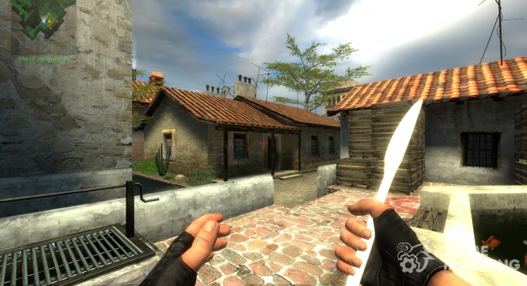 Plastic Knife for Counter-Strike Source