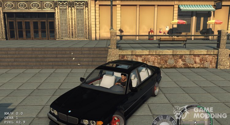 BMW E38 for Mafia II