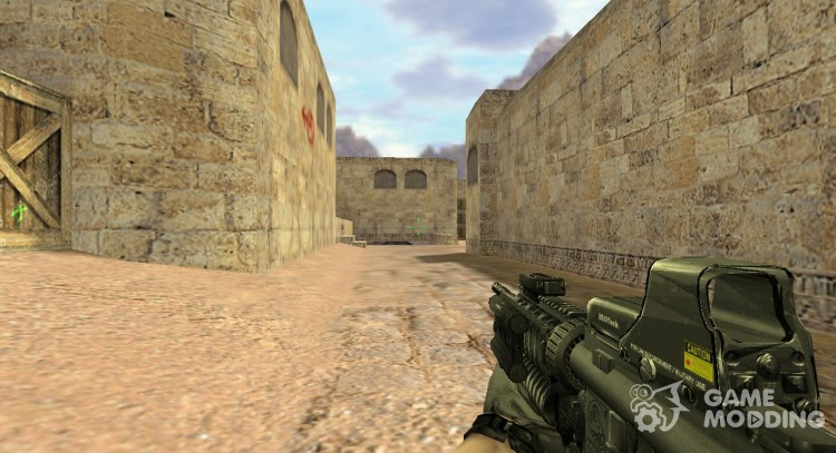 Cod4 Style M4A1 for Counter Strike 1 6