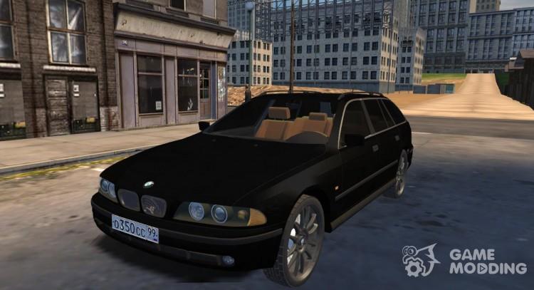 Bmw 5 E39 Touring For Mafia The City Of Lost Heaven