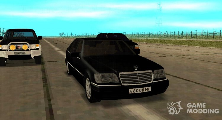 Mercedes-Benz W140 S-class for GTA San Andreas
