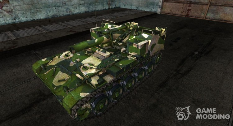 Skin for M41 for World Of Tanks