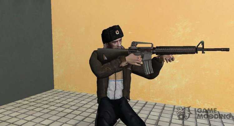 Niko Bellic in a fur Hat for GTA Vice City