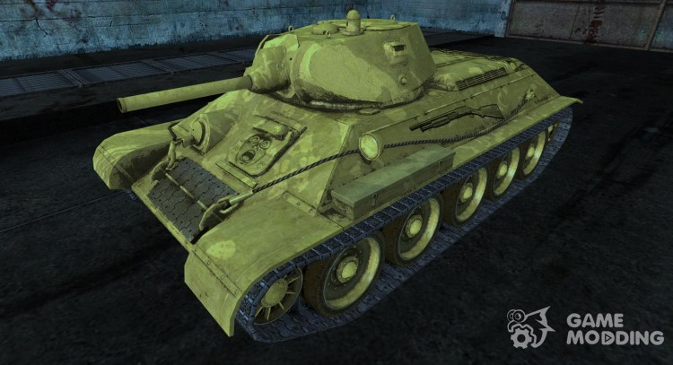 T-34-Sunabouzu (Desert Punk) for World Of Tanks