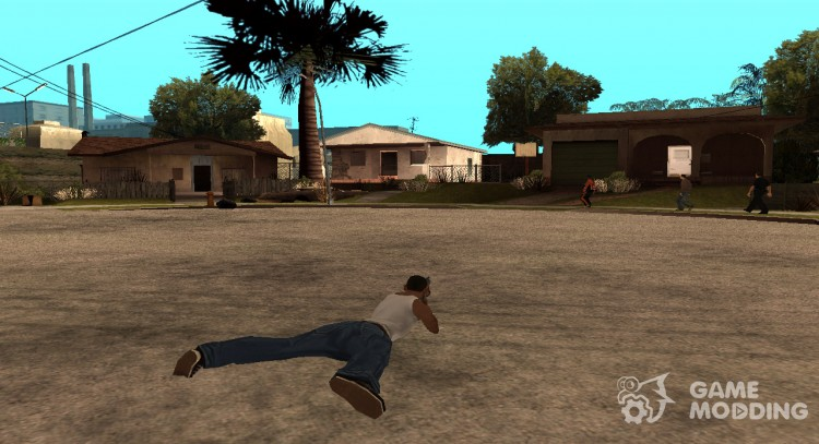 New animation shooting for GTA San Andreas