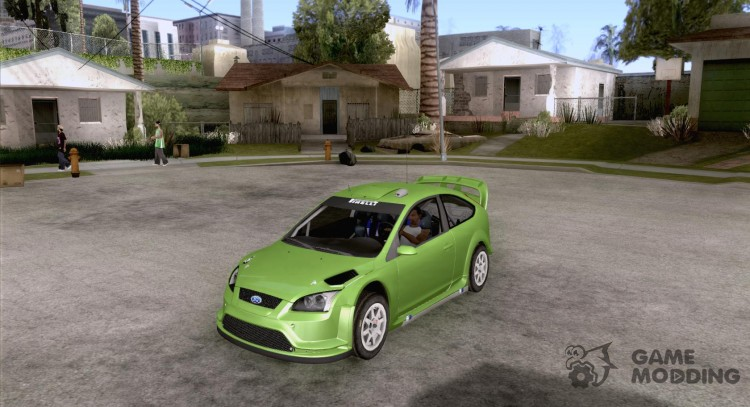 Ford Focus RS WRC 08 для GTA San Andreas