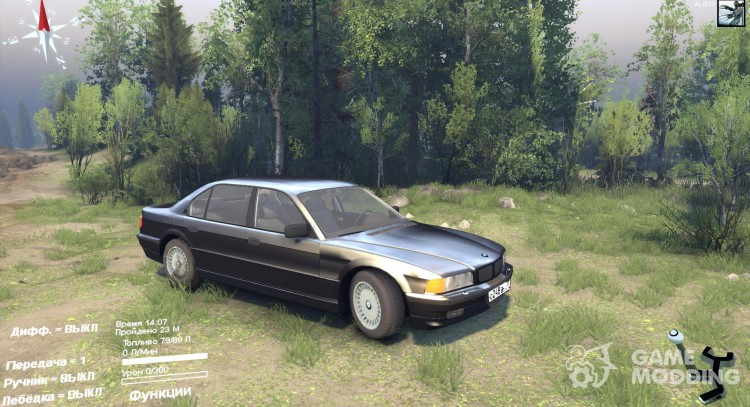 BMW 750Li E38 for Spintires 2014