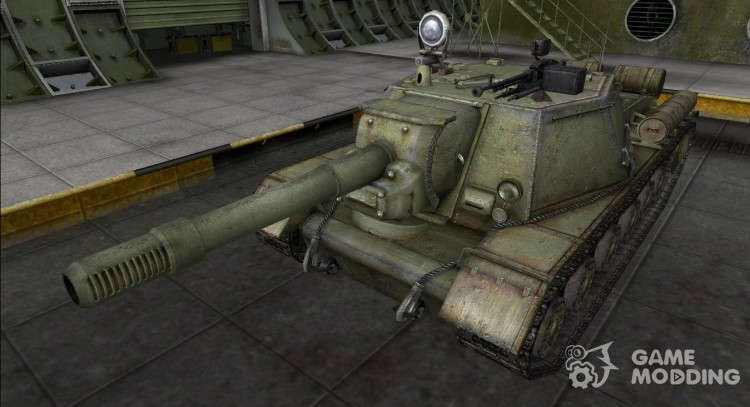 Remodelling for FR-Su-152 SELF-PROPELLED GUNS for World Of Tanks