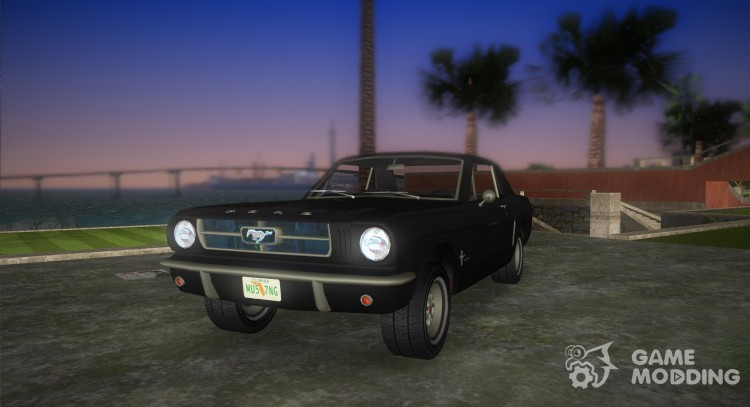 Ford Mustang 1965 for GTA Vice City