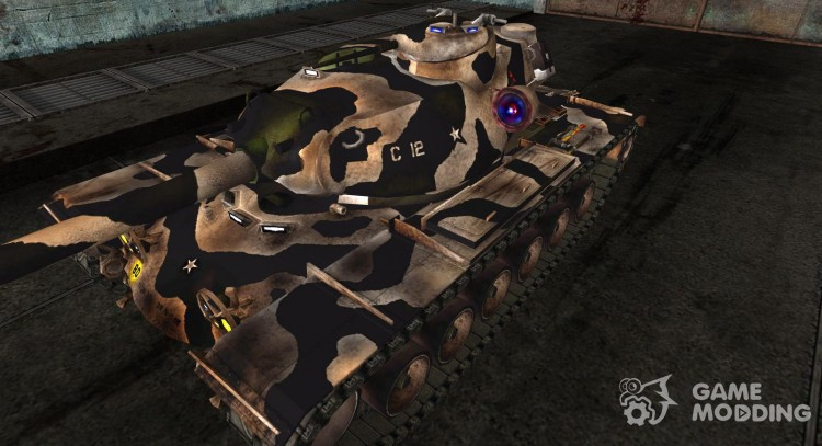 Skin for T110E5 for World Of Tanks