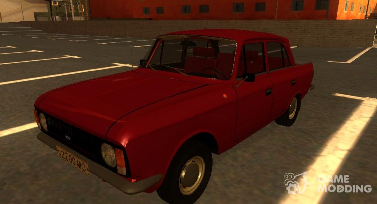 Moskvich 412 for GTA San Andreas