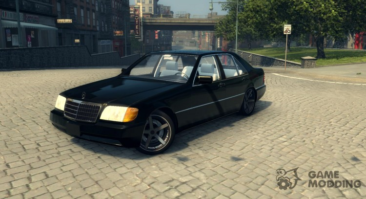 Mercedes S320 W140 for Mafia II
