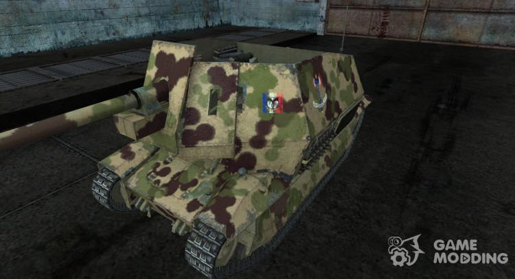 Skin for Pak40 FCM36 for World Of Tanks