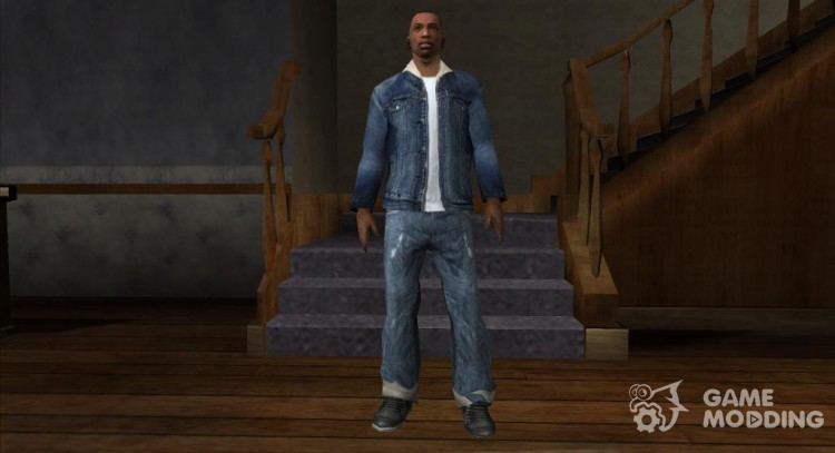 Jeans as the Trevor GTA 5 for GTA San Andreas