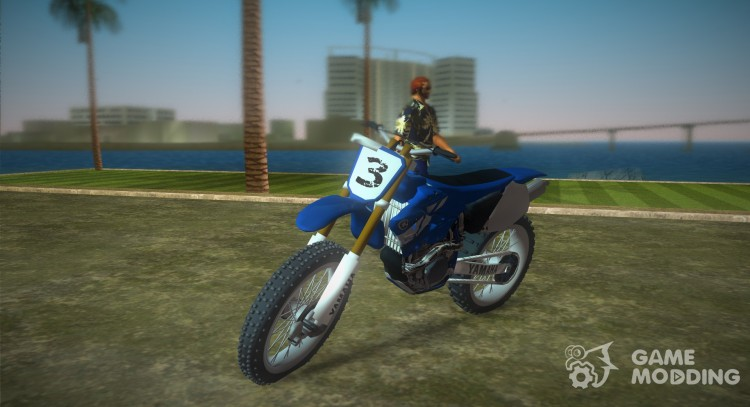 Yamaha YZ450F 2003 v2.1 for GTA Vice City