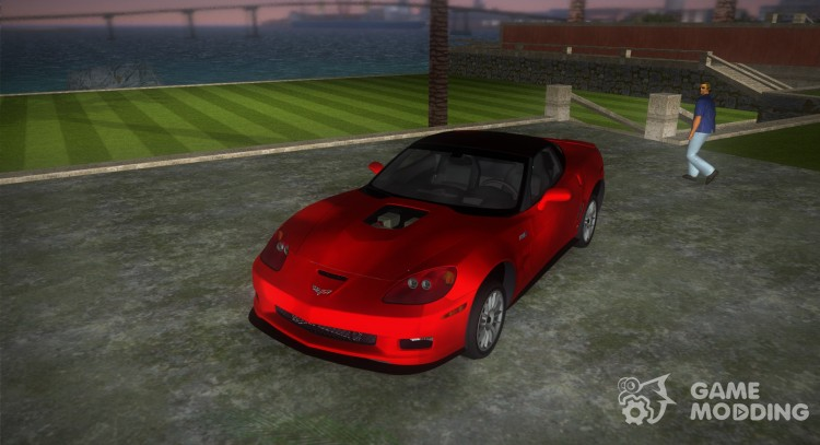 Chevrolet Corvette ZR1 Black Revel for GTA Vice City