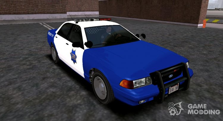 2005 Ford Crown Victoria SFPD (Stanier II Style) for GTA San Andreas