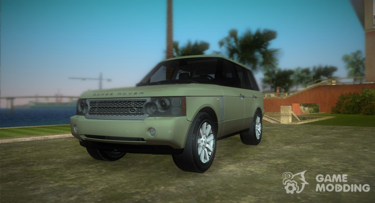 Land Rover Range Rover 2010 for GTA Vice City