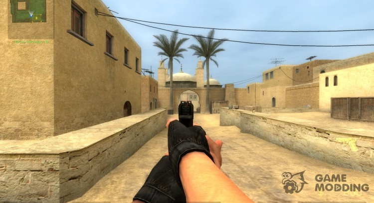Centered Wannabe's Glock 18! for Counter-Strike Source