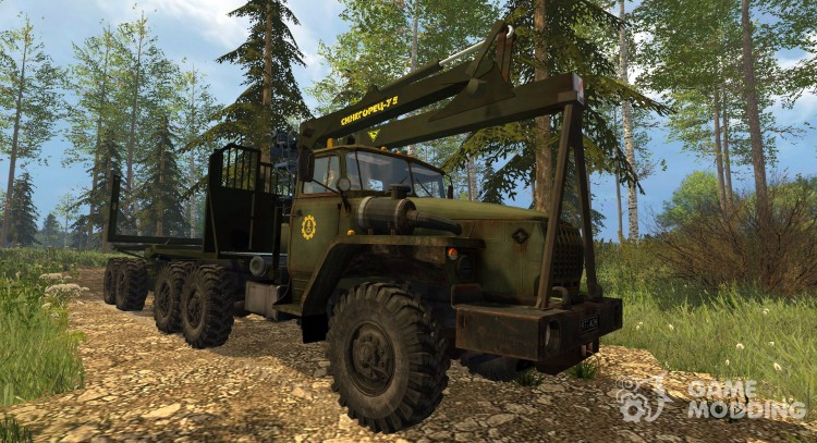 Ural 4320 timber carrier for Farming Simulator 2015