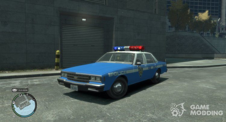 Chevrolet Impala Police NYC 1984 for GTA 4