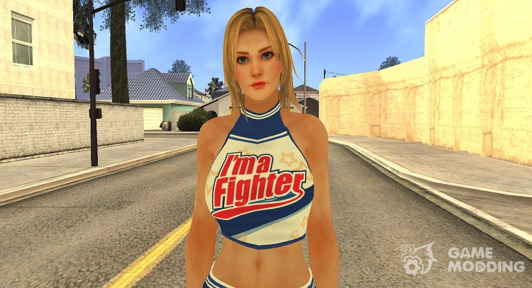 Lisa Cheerleader for GTA San Andreas