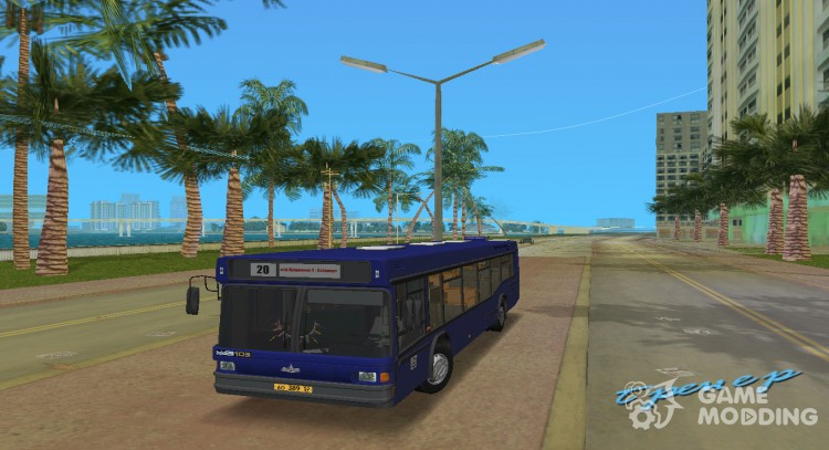 МАЗ 103 для GTA Vice City